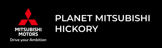 Planet Mitsubishi Hickory dealer logo